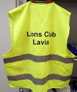 Heijastinliivi Lions Club Lavia