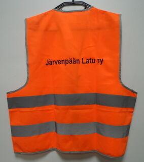Heijastinliivi Järvenpään Latu