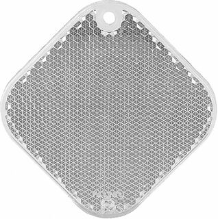Heiastin neliö 63x63mm kirkas